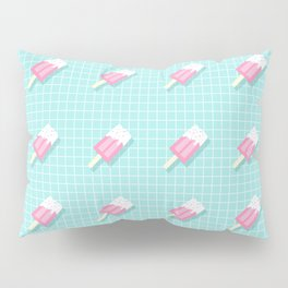 Popsicle Over Grid Lines Pillow Sham