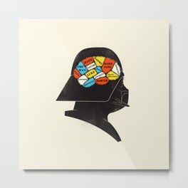 Vader Phrenology Metal Print