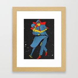 Cosmic Dancers Framed Art Print