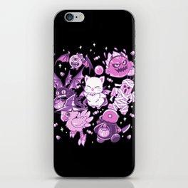 Final Fantasy Moogle Chocobo Tonberry Cactuar Bomb BatEye Gimme Cat Trick or treat iPhone Skin