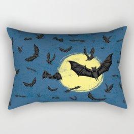 Bat Swarm Rectangular Pillow