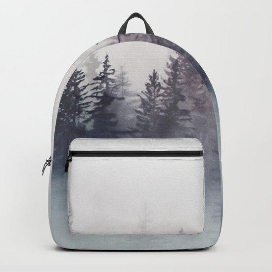 Winter Wonderland - Stormy weather Backpack