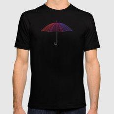 Ready for Rain Mens Fitted Tee Black MEDIUM