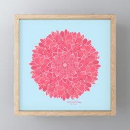 Full Bloom Framed Mini Art Print