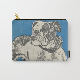 Vintage American Bulldog Illustration (1912) Carry-All Pouch