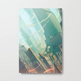 leveL - The Sprawl Metal Print