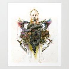 The Antagonist Art Print