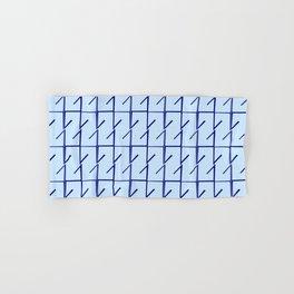 Antic pattern 11- from LBK blue Hand & Bath Towel