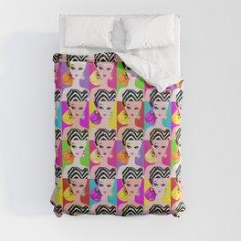 Pop Art Barbie Duvet Cover