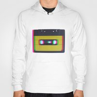 cassette Hoodies featuring Cassette by Michal