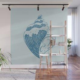 Listen, The Ocean is Calling Wall Mural