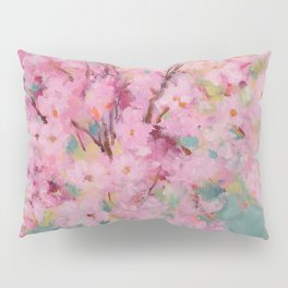 Spring Cherry Blossoms Pillow Sham