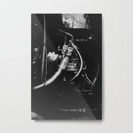 grease Metal Print