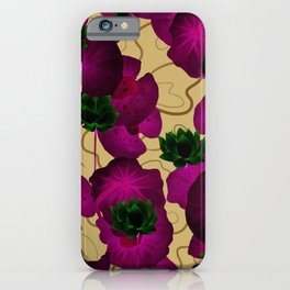 Lotus Lake iPhone Case