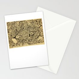 Sick Chamber by Brian Benson Stationery Cards