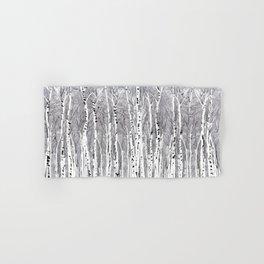 Birch Trees Hand & Bath Towel