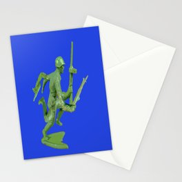 Mutated Green Army Man  Stationery Cards