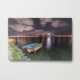 Lake at night Metal Print