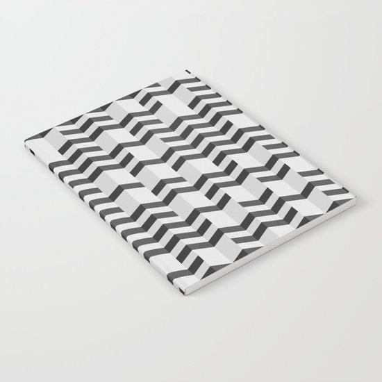 FOLDED / black Notebook