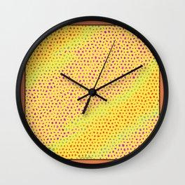 Yellow Fun Wall Clock