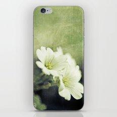 pretty in green. iPhone & iPod Skin