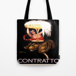 Vintage poster - Contratto Tote Bag
