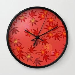Momiji Wall Clock