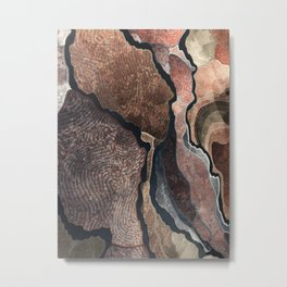 Luxurious Pattern of Colors Metal Print