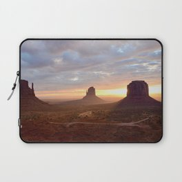 Sunrise over Monument Valley Laptop Sleeve