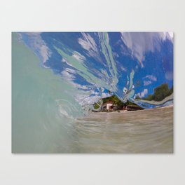Kai's wave Canvas Print