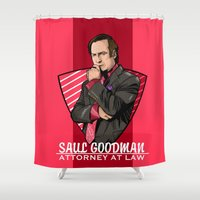 lawyer Shower Curtains featuring You need a lawyer? by Akyanyme
