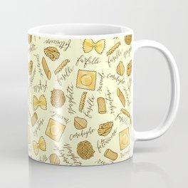 Know Your Pasta Coffee Mug