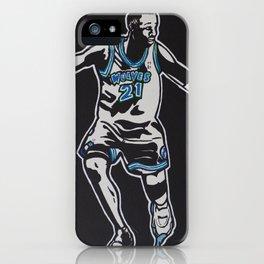 MJ vs. KG iPhone Case