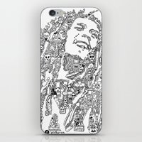 marley iPhone & iPod Skins featuring Marley by Ron Goswami