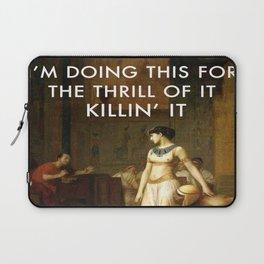 Cleopatra Killin' It Laptop Sleeve