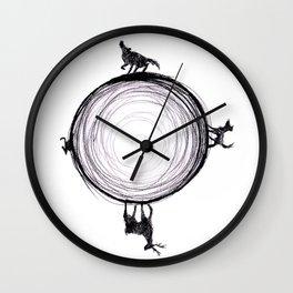 Marauders Moon II Wall Clock