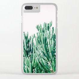 A Gathering of Cacti Clear iPhone Case