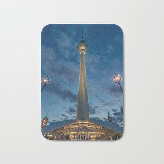 Berlin TV Tower Bath Mat