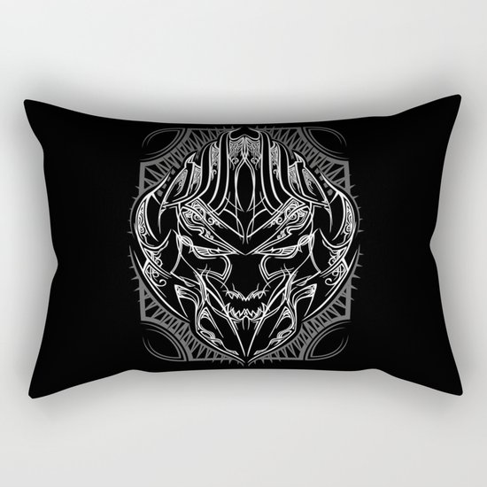 Pinstripe Megatron Rectangular Pillow