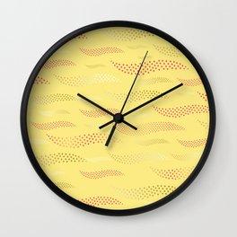 Waves / Tiger (stylized pattern) 23 Wall Clock