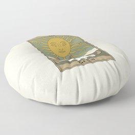 The Sun Floor Pillow
