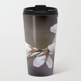 spring cherry blooms Metal Travel Mug
