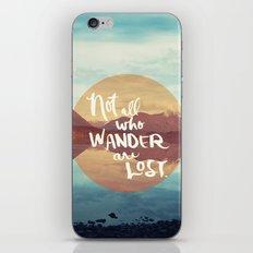Wander II iPhone & iPod Skin
