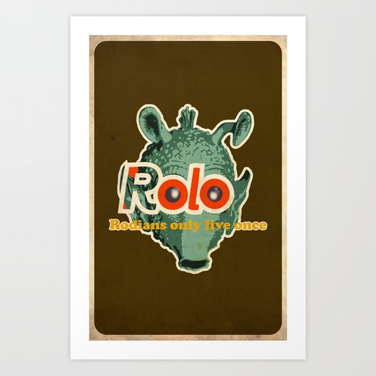 ROLO Art Print