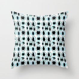 Penguin Portraits Throw Pillow