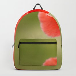 Miss you so much Red Poppy #decor #society6 Backpack