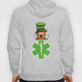 Funny St Patty EMS Stare Of Life Gift Hoody