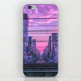 Tokyo Skies iPhone Skin