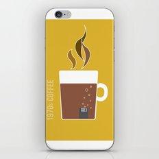 70s Coffee iPhone & iPod Skin