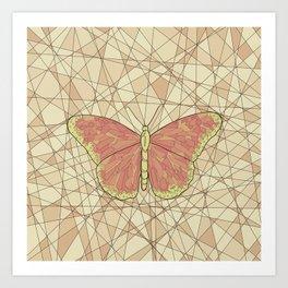 Butterfly free2 Art Print